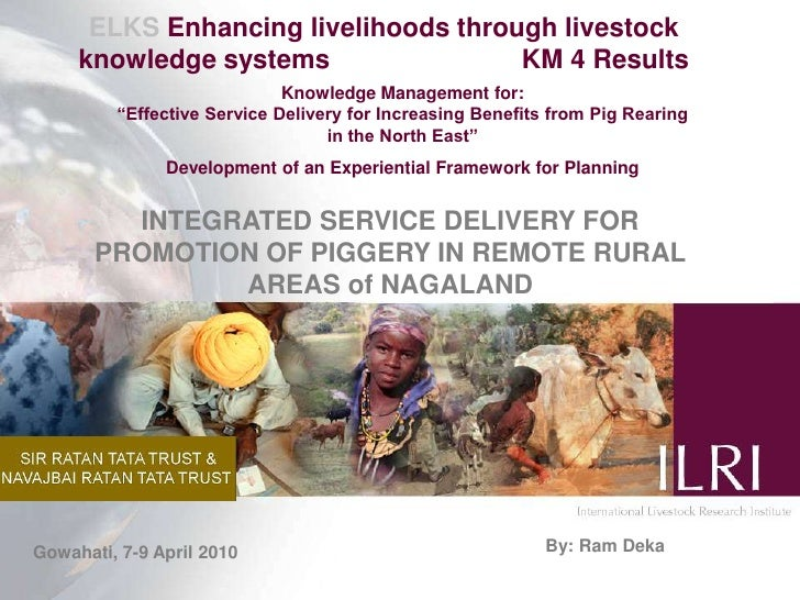 ELKS Enhancing livelihoods through livestock knowledge systems                          KM 4 Results<br />Knowledge Manage...
