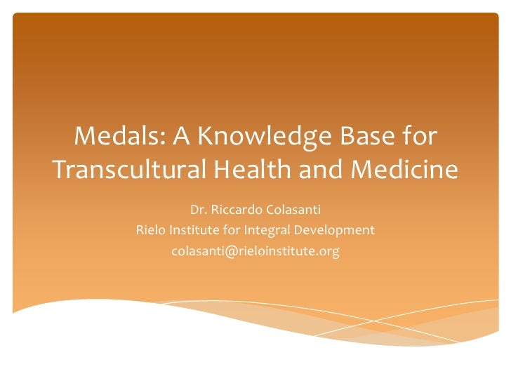 Knowledge Base for Transcultural Health