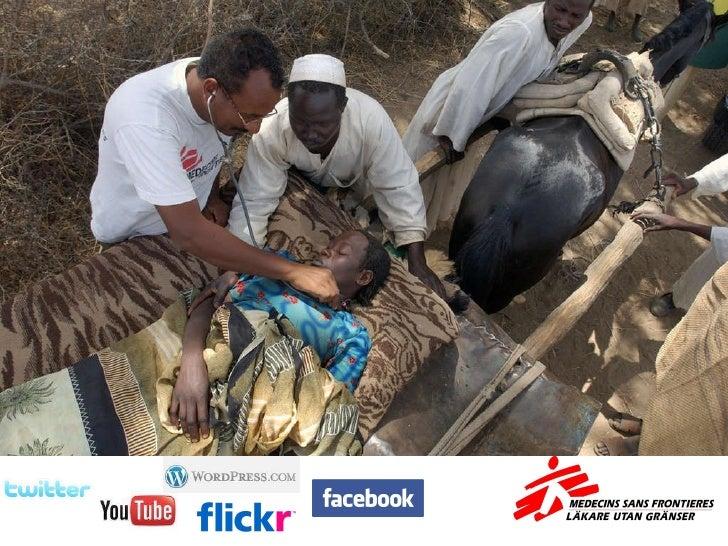 Läkare Utan Gränser och sociala medier