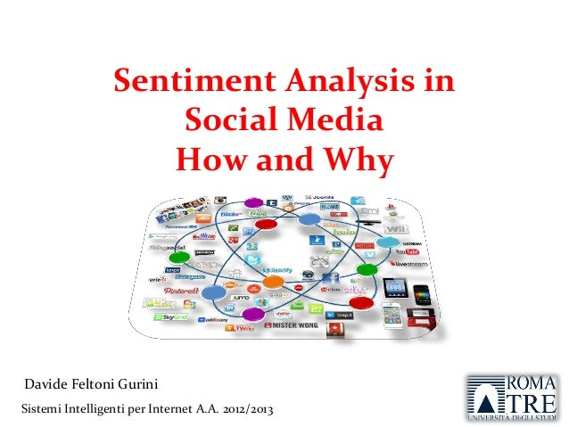 Sentiment Analysis and Social Media: How and Why