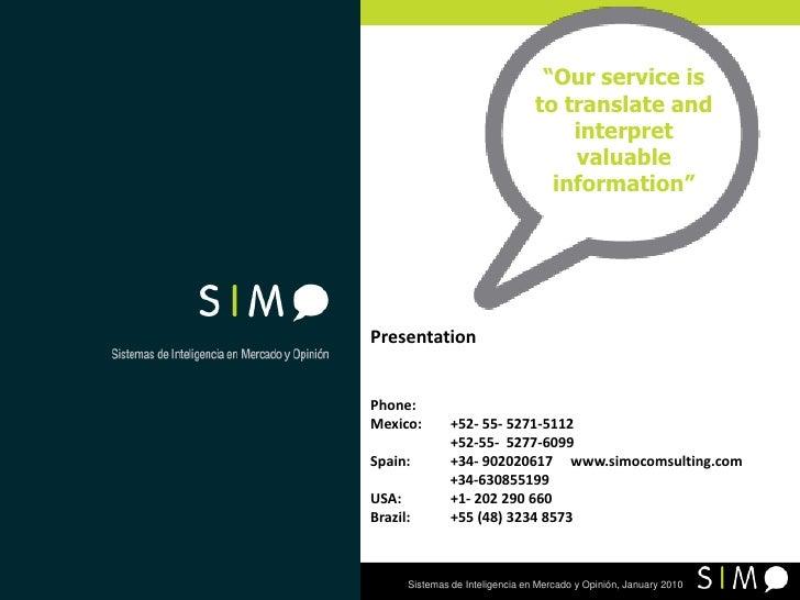 Presentation Simo English
