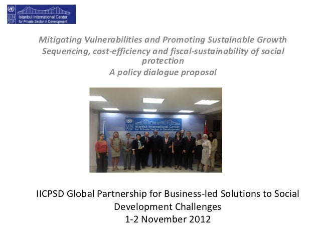 Mitigating Vulnerabilities and Promoting Sustainable GrowthSequencing, cost-efficiency and fiscal-sustainability of social...