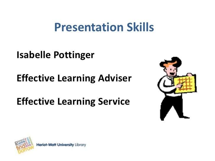 Presentation skills feb2012