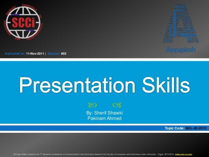 Instructed on: 11-Nov-2011   Session: #02                                                                                 ...