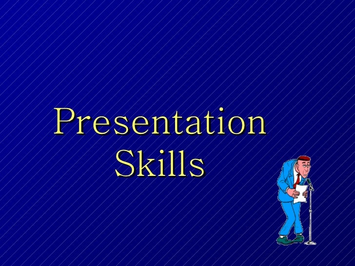 Presentation skills final