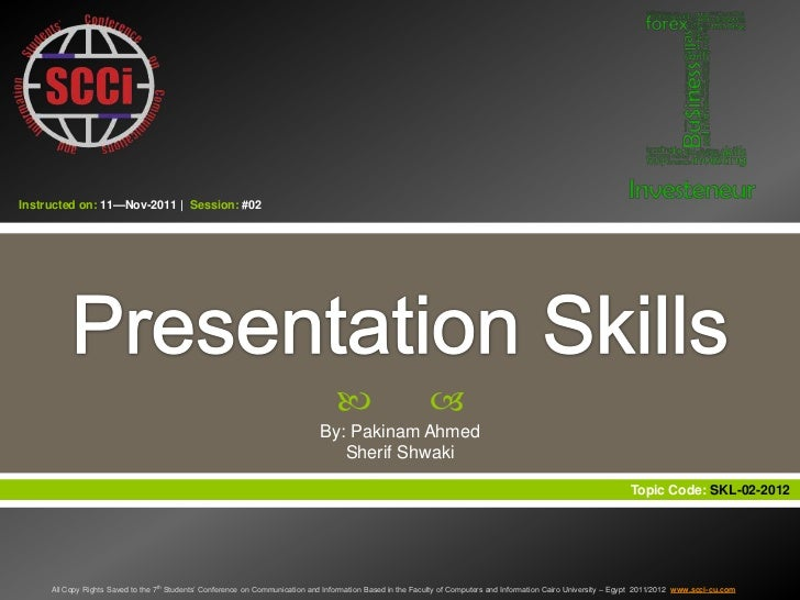 Instructed on: 11—Nov-2011   Session: #02                                                                                 ...