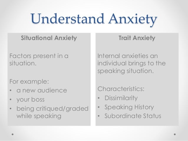 Anxiety Symptoms Caused By Life Situations and Circumstances