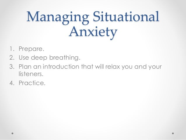 Situational Anxiety in Children: Helping Your Child Cope