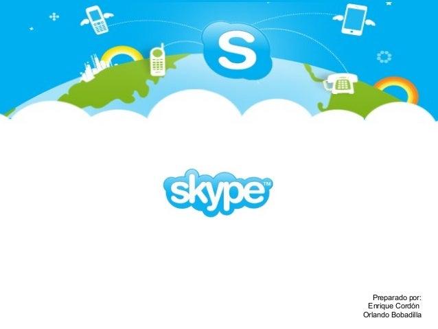 Presentation skype