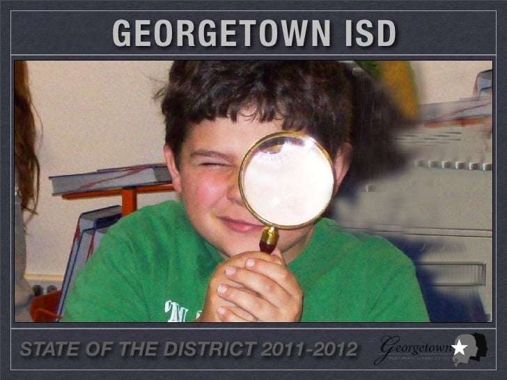 State of the District 2011-2012
