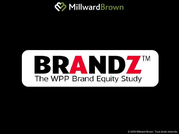 Etude BrandZ - Focus sur McDonald's