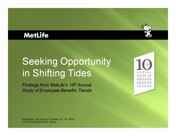 10th Seeking Opportunity in Shifting Tides (Metlife) AGOS12