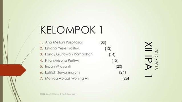 KELOMPOK 11. Ana Meilani Puspitasari                     (03)                                                             ...