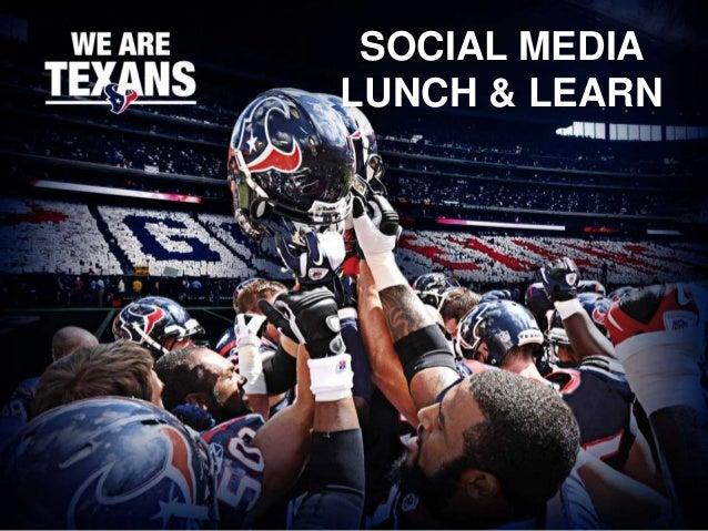 SOCIAL MEDIALUNCH & LEARN