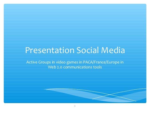 Presentation social media_maje2012