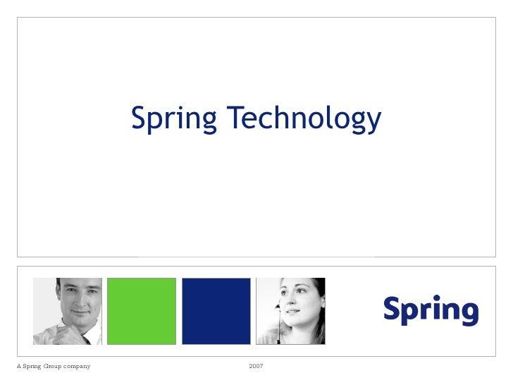 Spring Technology