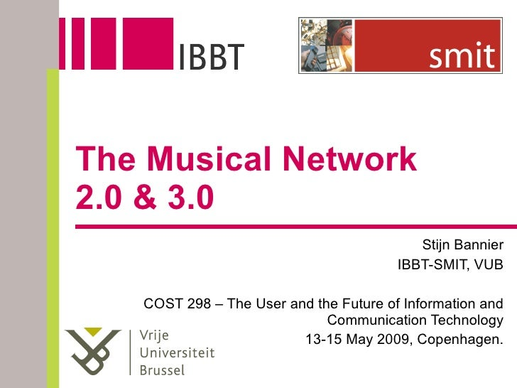 The Musical Network 2.0 & 3.0