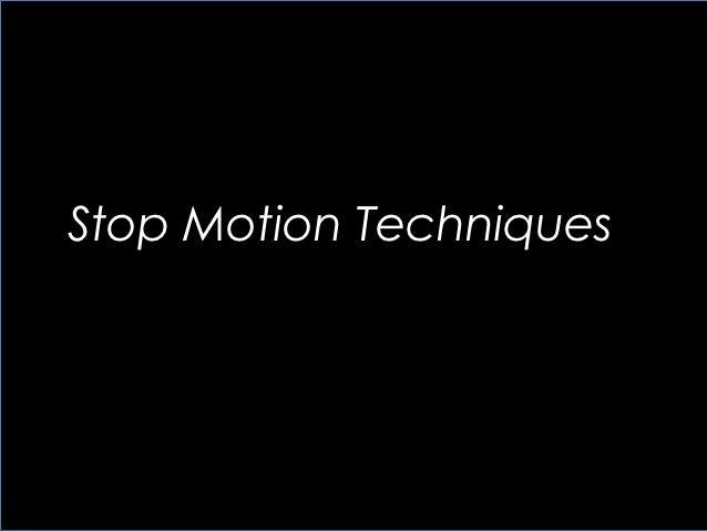 Presentation stop motion