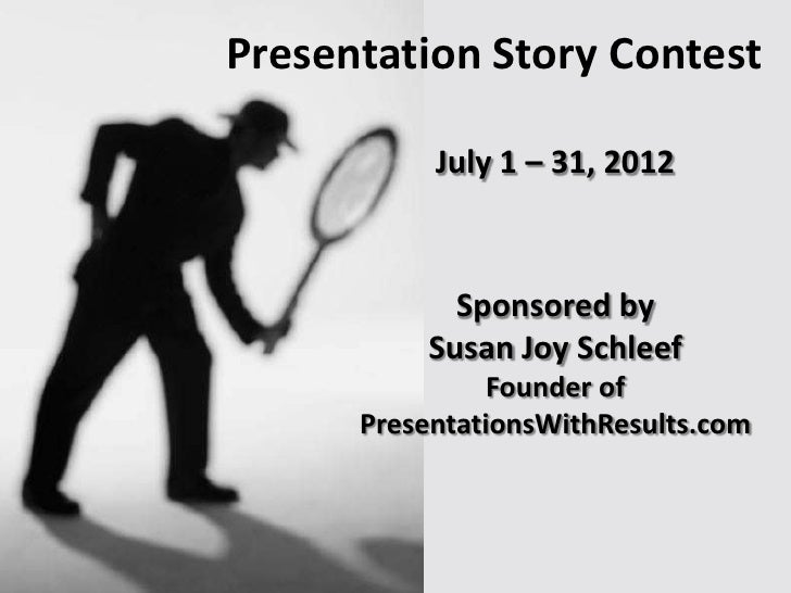 Improve Presentations with Story Structure