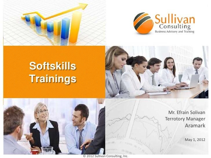 Presentation sullivan consulting 2012