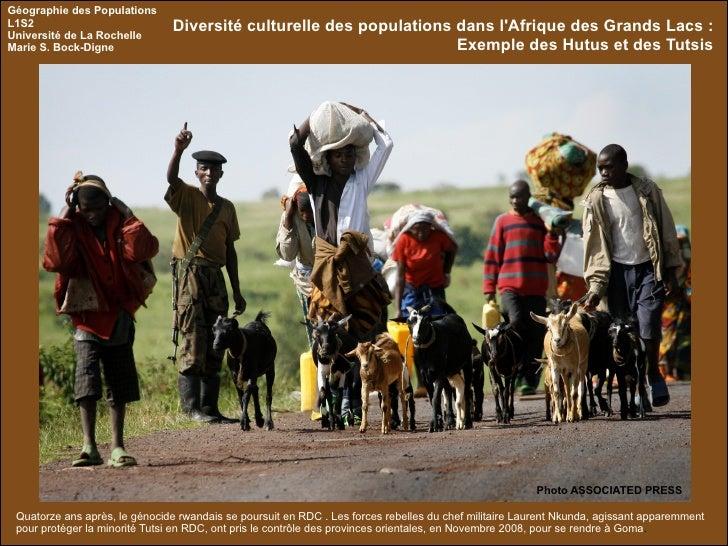 Quatorze ans après, le génocide rwandais se poursuit en RDC . Les forces rebelles du chef militaire Laurent Nkunda, agissa...