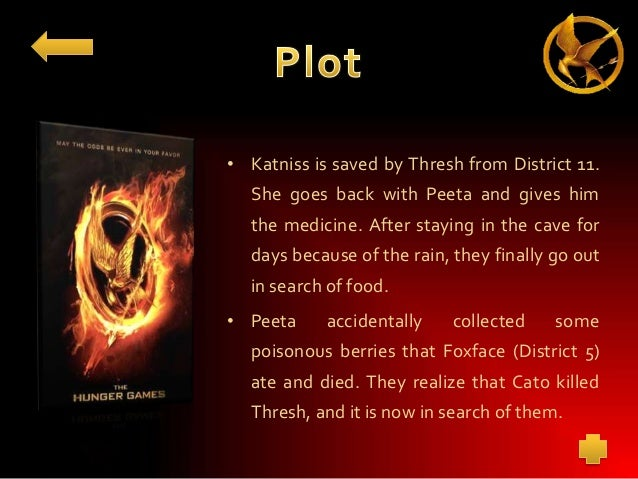 The hunger games book?