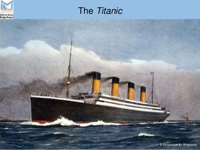 The Titanic © Encyclopædia Britannica