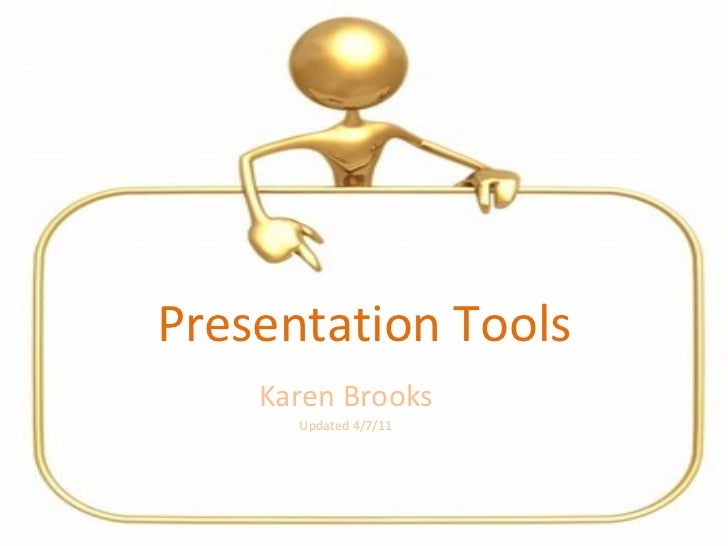 Presentation tools for the classroom 2011