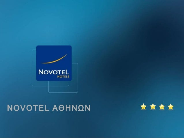 Presentation tourism novotel  (new gr) neo