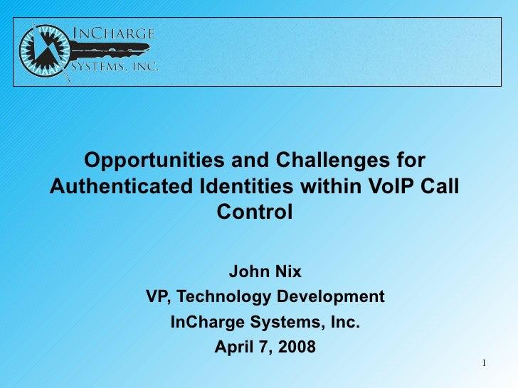 Presentation To Vo Ip Round Table V2