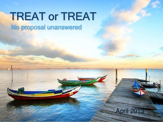 Presentation of Treat or Treat