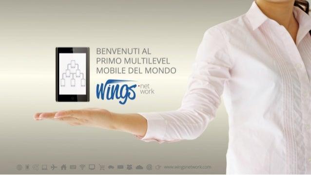 """WINGS NETWORK Italia - """"Il Network Marketing Più Pemiante!"""""""