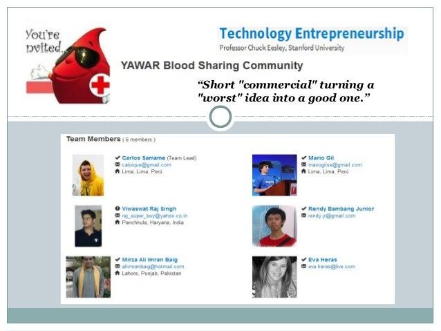 Technology  Entrepreneurship Venture  Lab 2012 - Umbrellas for the deserts