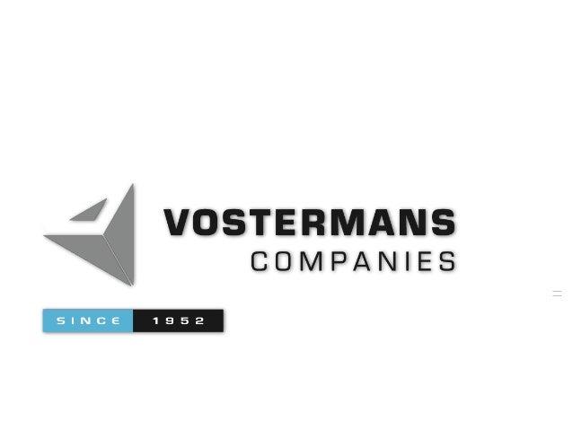 Vostermans Beheer BV  Vostermans O.G. BV  Vostermans Ventilation BV  USA  Malaysia  France  Vostermans Alu Foundries BV