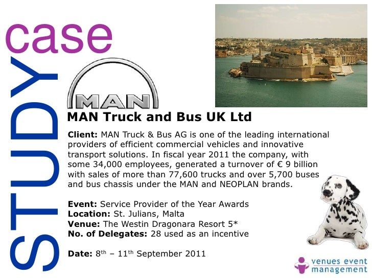 caseSTUDY    MAN Truck and Bus UK Ltd    Client: MAN Truck & Bus AG is one of the leading international    providers of ef...