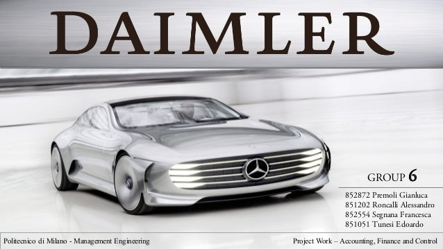 daimler ag analysis Analysis how the driver is following the speed limits  daimler ag as moving as life itself: discover the full fascination of mercedes-benz.