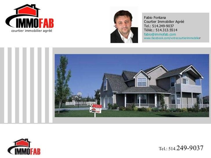 La vente de votre maison