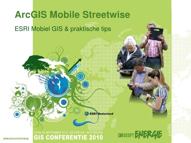 ArcGIS Mobile Streetwise