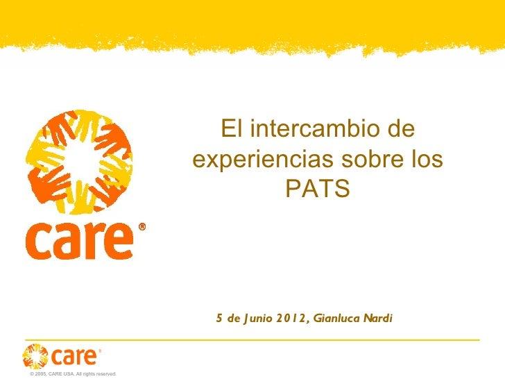 Presentation Webex PATs
