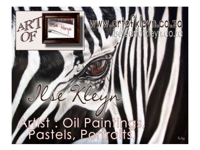Wildlife Oil paintings by Ilse Kleyn