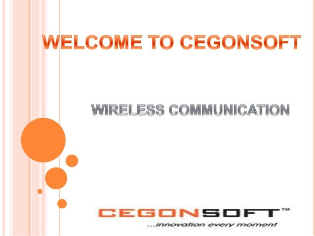 Wireless communication is the transfer of information between two or more points that are not connected by an electrical c...