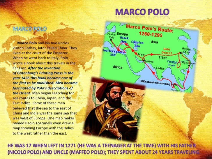 marco polo research paper Kids learn about the explorer marco polo his journeys to china to meet emperor kublai khan.
