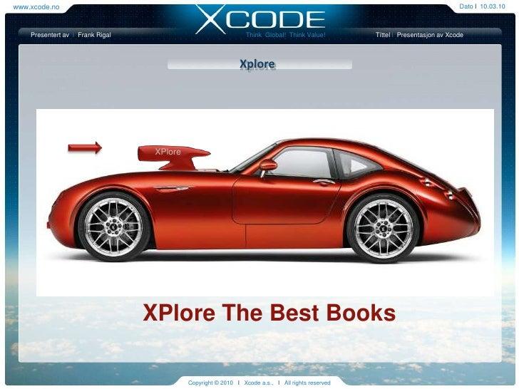 Presentation Xplore