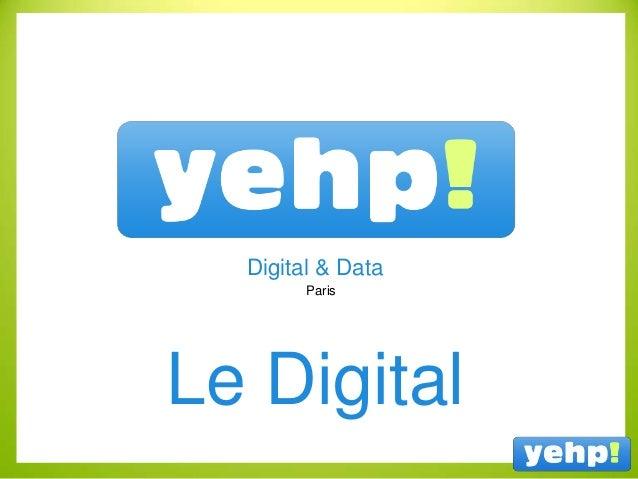 Paris Digital & Data Le Digital