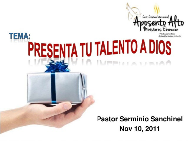 Pastor Serminio Sanchinel Nov 10, 2011