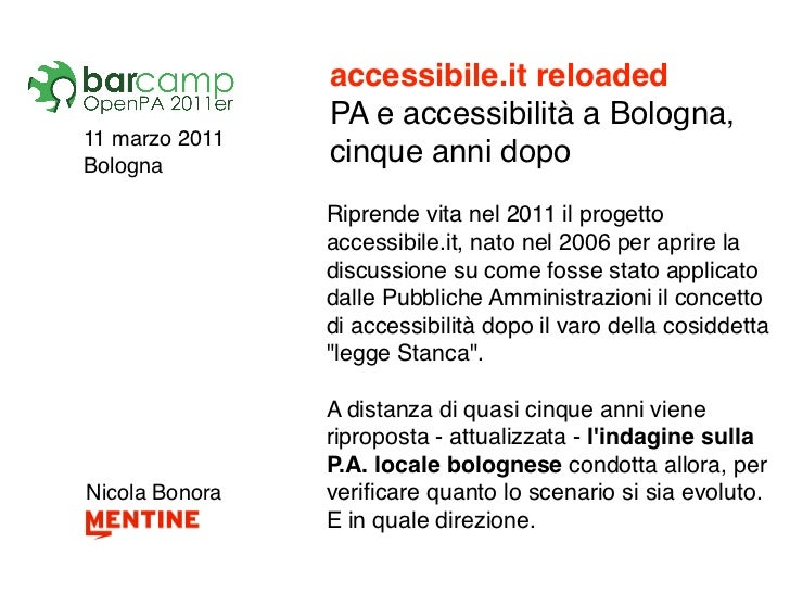 Accessibile.it reloaded