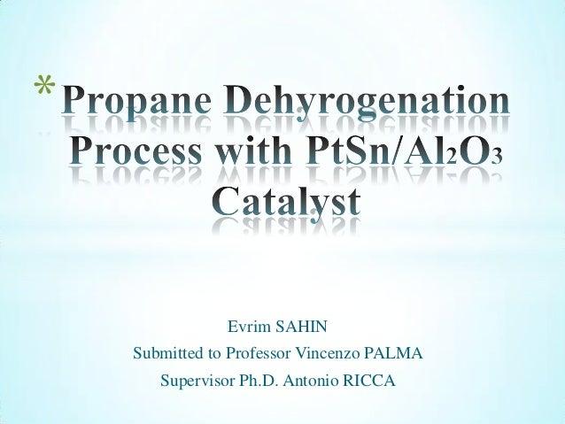 Evrim SAHINSubmitted to Professor Vincenzo PALMASupervisor Ph.D. Antonio RICCA*