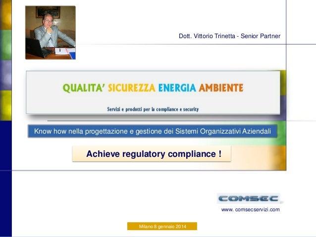 Presentazione COMSEC
