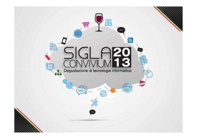 Presentazione Deltaphi SIGLA Convivium 2013