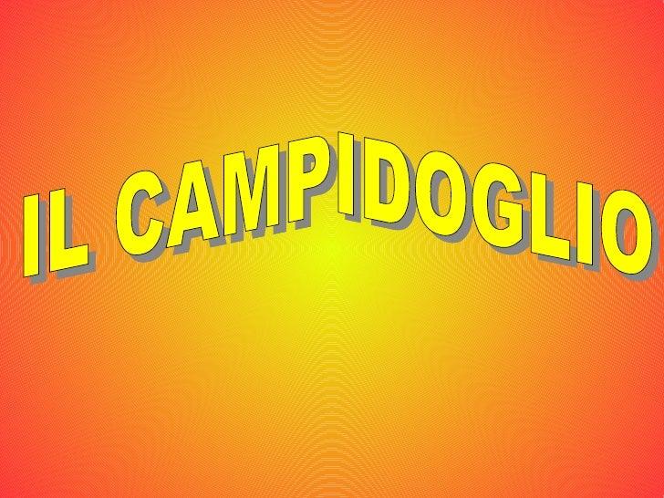 IL CAMPIDOGLIO